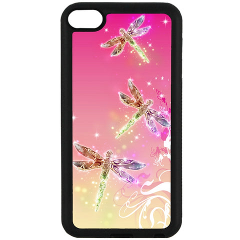 For Apple iPod Touch 6 - Dragonfly Glamour Case Phone Cover Y01146