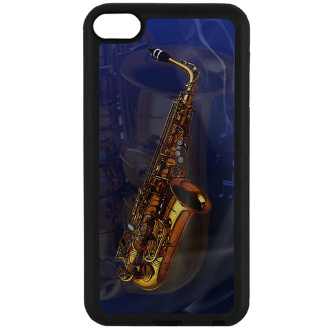 For Apple iPod Touch 6 - Jazz Saxophone Case Phone Cover Y01311