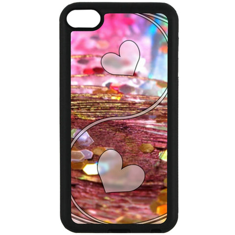 For Apple iPod Touch 6 - Yin Yang Love Case Phone Cover Y01487