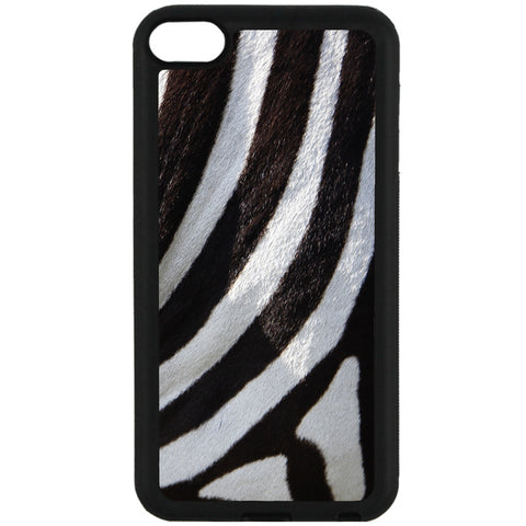 For Apple iPod Touch 6 - Zebra Fur Case Phone Cover Y01492
