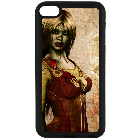 For Apple iPod Touch 6 - Zombie Mistress Case Phone Cover Y01494