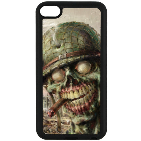 For Apple iPod Touch 6 - Zombie Soldier Case Phone Cover Y01495