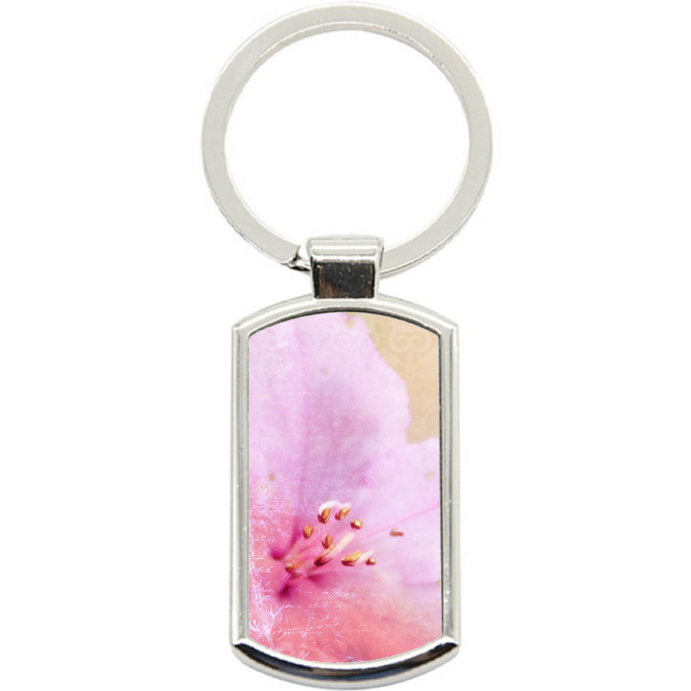 KeyRing Stainless Steel Key Chain Ring - Softpink Vintage Y00136