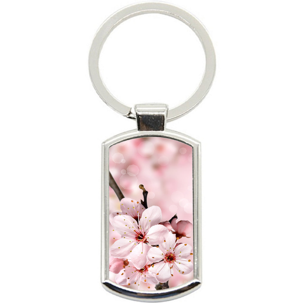 KeyRing Stainless Steel Key Chain Ring - Pretty Pink Y00375