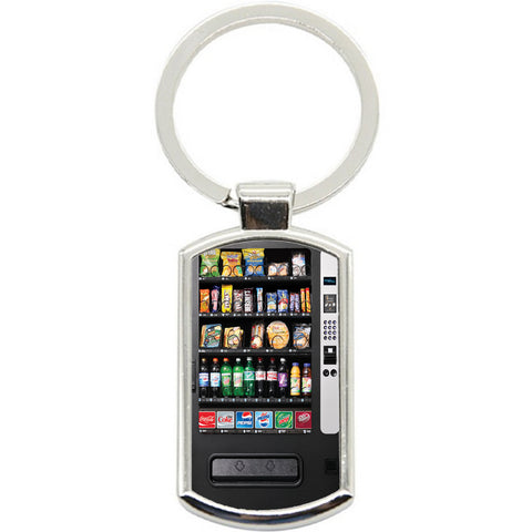 KeyRing Stainless Steel Key Chain Ring - Vending Machine Y01151