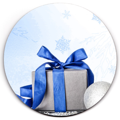Single HD SuperClear Drink Coaster Xmas Present Y00489