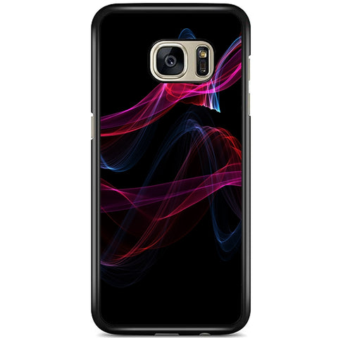 Fits Samsung Galaxy S7 EDGE - Abstract Trails Case Phone Cover Y00010