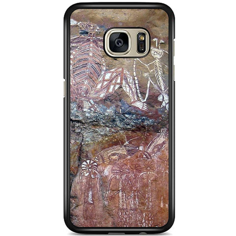 Fits Samsung Galaxy S7 - Aboriginal Art Case Phone Cover Y00149