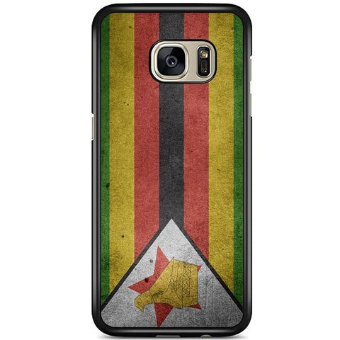 Fits Samsung Galaxy S7 - Zimbabwe Flag Case Phone Cover Y00185