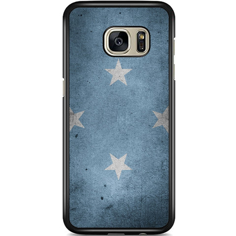 Fits Samsung Galaxy S7 EDGE -  Micronesia Flag Case Phone Cover Y00266