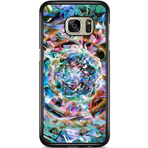 Fits Samsung Galaxy S7 EDGE - Abstract Pastel Case Phone Cover Y00304