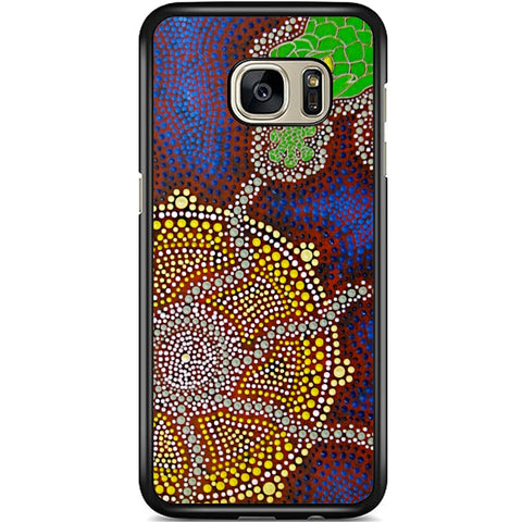 Fits Samsung Galaxy S7 - Aboriginal Art Case Phone Cover Y00341