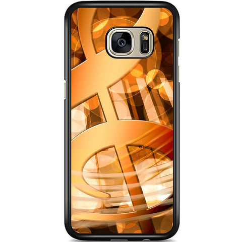 Fits Samsung Galaxy S7 EDGE - Abstract Music Case Phone Cover Y00392
