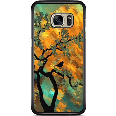 Fits Samsung Galaxy S7 EDGE - Abstract Tree Case Phone Cover Y00393