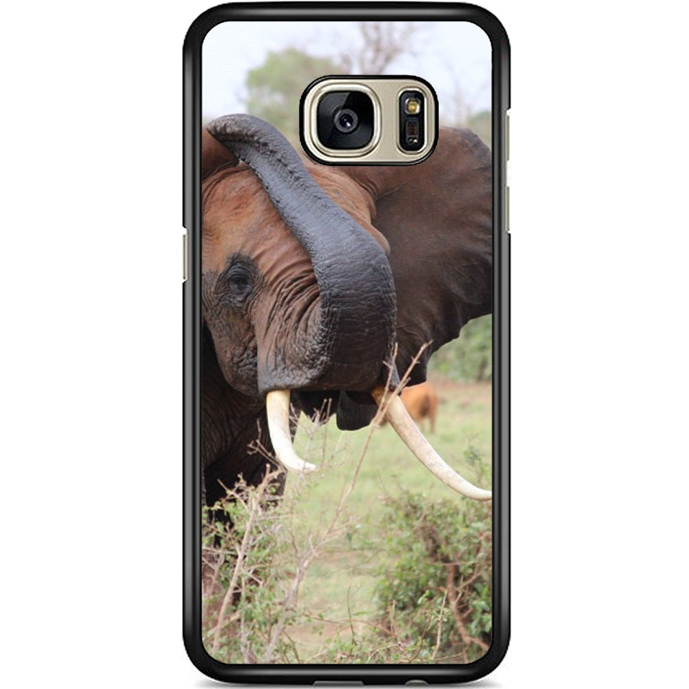 buy online a43cf dd25e Fits Samsung Galaxy S7 EDGE - African Elephant Case Phone Cover Y00795