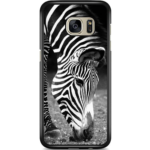Fits Samsung Galaxy S7 - Zebra Natural Case Phone Cover Y00950