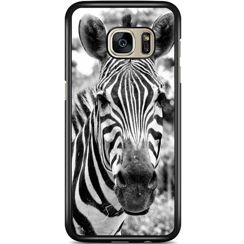 Fits Samsung Galaxy S7 - Zebra Real Case Phone Cover Y01056