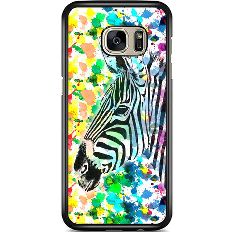 Fits Samsung Galaxy S7 - Zebra Beauty Case Phone Cover Y01096