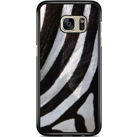 Fits Samsung Galaxy S7 - Zebra Fur Case Phone Cover Y01492