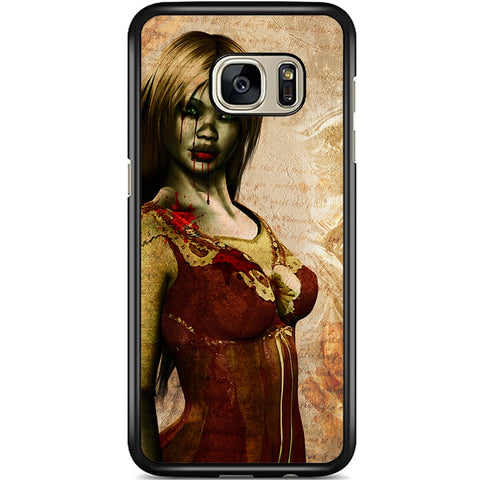 Fits Samsung Galaxy S7 - Zombie Mistress Case Phone Cover Y01494