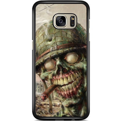Fits Samsung Galaxy S7 - Zombie Soldier Case Phone Cover Y01495