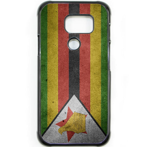 Fits Samsung Galaxy S7 ACTIVE - Zimbabwe Flag Case Phone Cover Y00185
