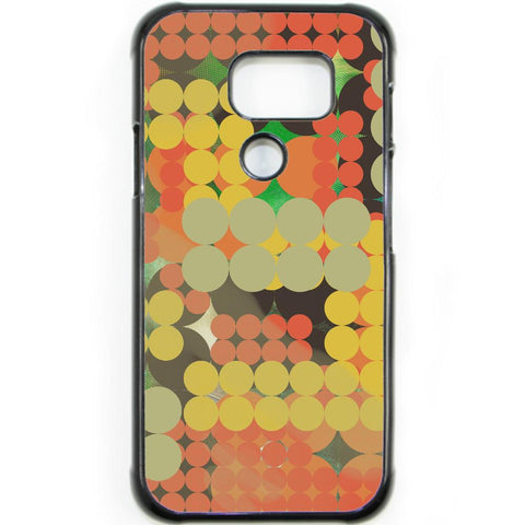Fits Samsung Galaxy S7 ACTIVE - Abstract Pola Dots Case Phone Cover Y00311