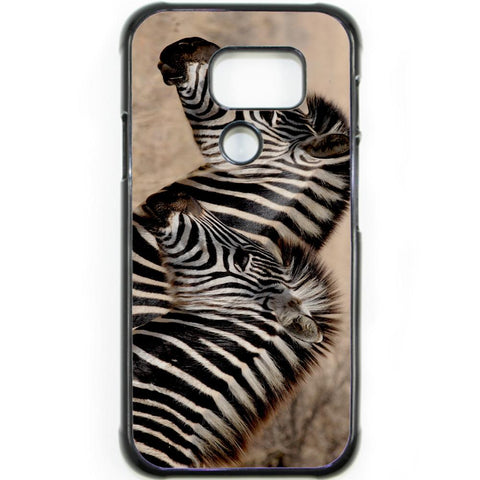 Fits Samsung Galaxy S7 ACTIVE - Zebra Baby Mum Case Phone Cover Y00362