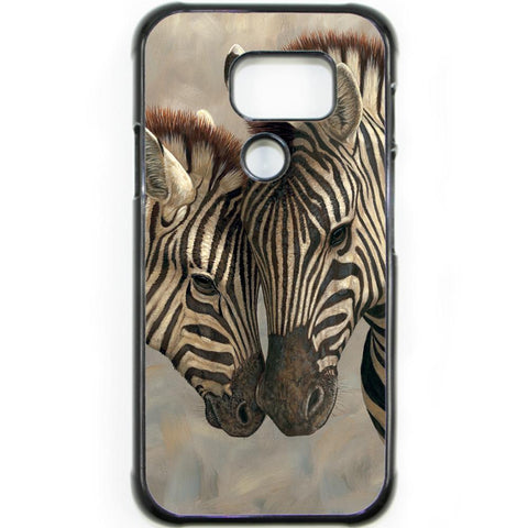 Fits Samsung Galaxy S7 ACTIVE - Zebra Love Baby Case Phone Cover Y00369