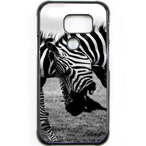 Fits Samsung Galaxy S7 ACTIVE - Zebra Fight Case Phone Cover Y00373