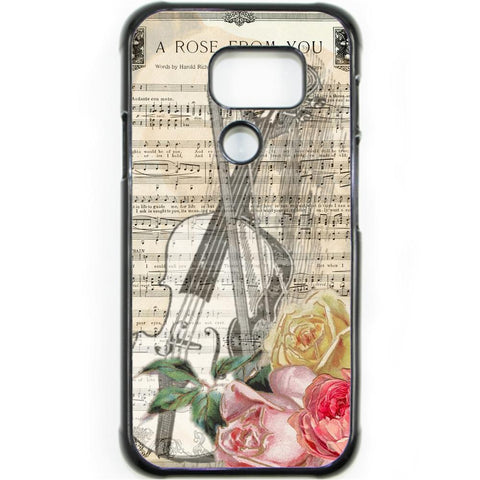 Fits Samsung Galaxy S7 ACTIVE - A Rose Music Case Phone Cover Y00628