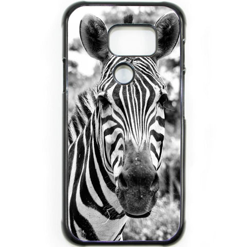Fits Samsung Galaxy S7 ACTIVE - Zebra Real Case Phone Cover Y01056