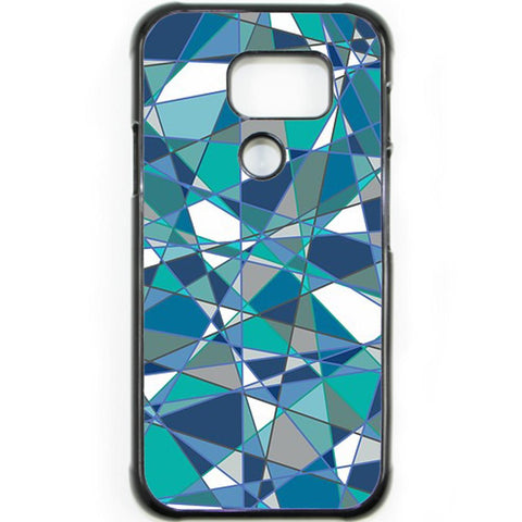 Fits Samsung Galaxy S7 ACTIVE - Abstract Teal Case Phone Cover Y01184