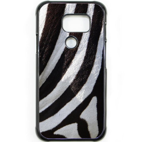 Fits Samsung Galaxy S7 ACTIVE - Zebra Fur Case Phone Cover Y01492