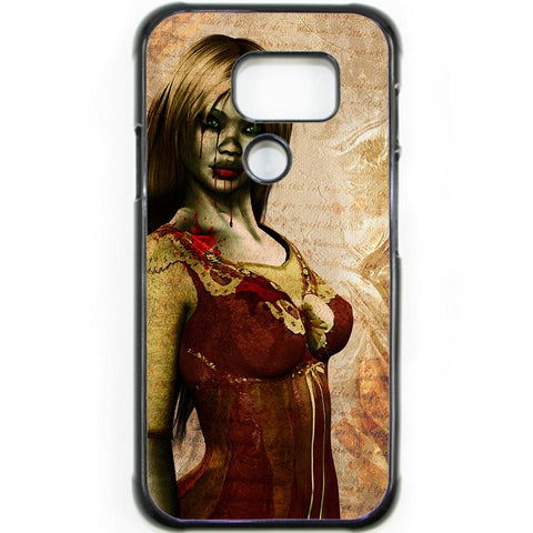 Fits Samsung Galaxy S7 ACTIVE - Zombie Mistress Case Phone Cover Y01494
