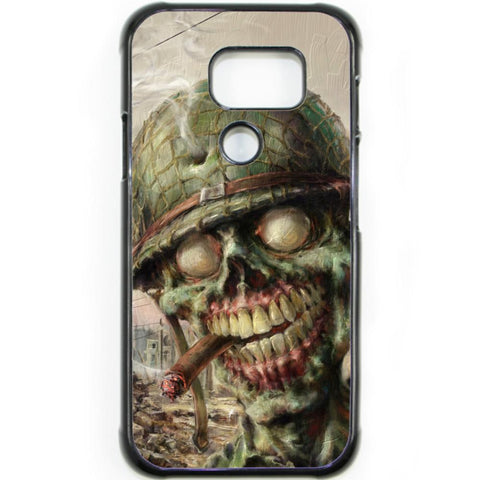 Fits Samsung Galaxy S7 ACTIVE - Zombie Soldier Case Phone Cover Y01495