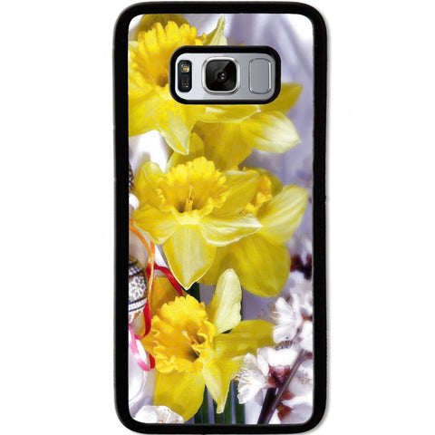 Fits Samsung Galaxy S8 - Yellow Daffodil Case Phone Cover Y00104