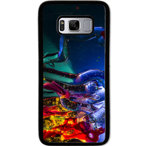 Fits Samsung Galaxy S8 - Abstract Blue Case Phone Cover Y00143