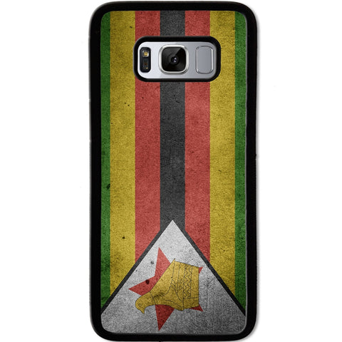 Fits Samsung Galaxy S8 - Zimbabwe Flag Case Phone Cover Y00185