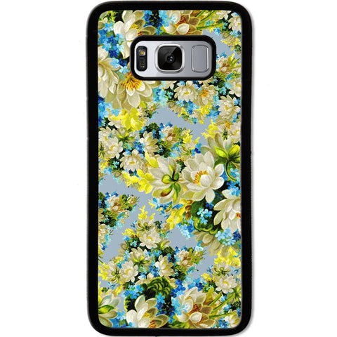 Fits Samsung Galaxy S8 - Yellow Flowers Case Phone Cover Y00305