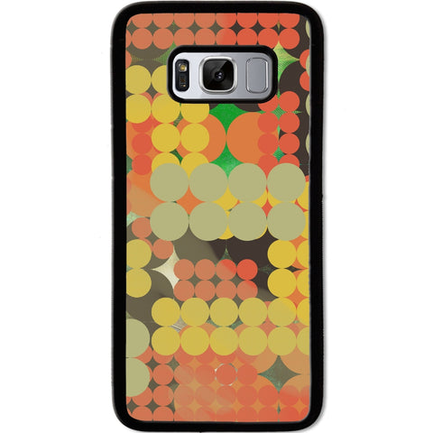 Fits Samsung Galaxy S8 - Abstract Pola Dots Case Phone Cover Y00311
