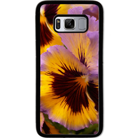 Fits Samsung Galaxy S8 - Yellow Pansy Case Phone Cover Y00347