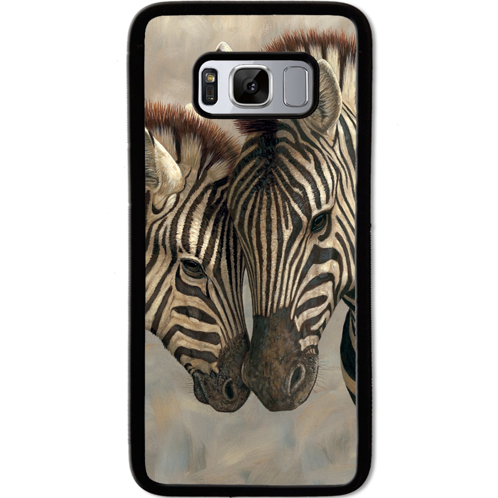 Fits Samsung Galaxy S8 - Zebra Love Baby Case Phone Cover Y00369