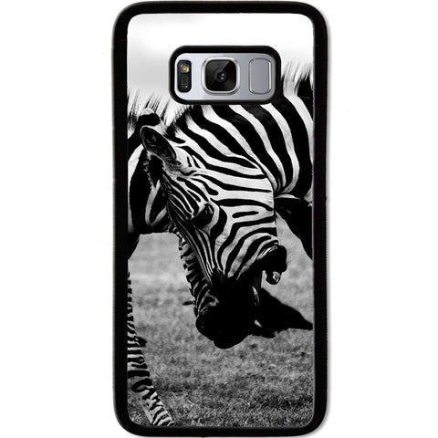 Fits Samsung Galaxy S8 - Zebra Fight Case Phone Cover Y00373