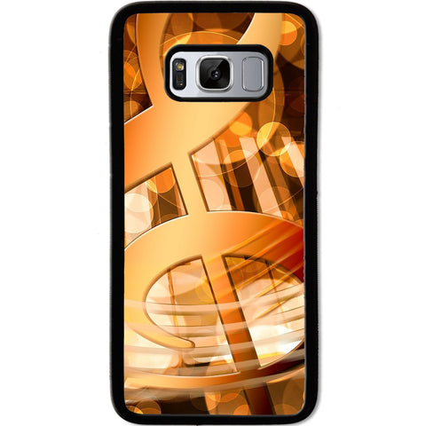 Fits Samsung Galaxy S8 - Abstract Music Case Phone Cover Y00392