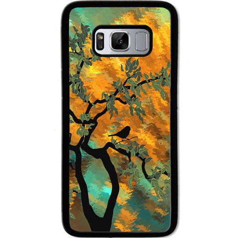 Fits Samsung Galaxy S8 - Abstract Tree Case Phone Cover Y00393
