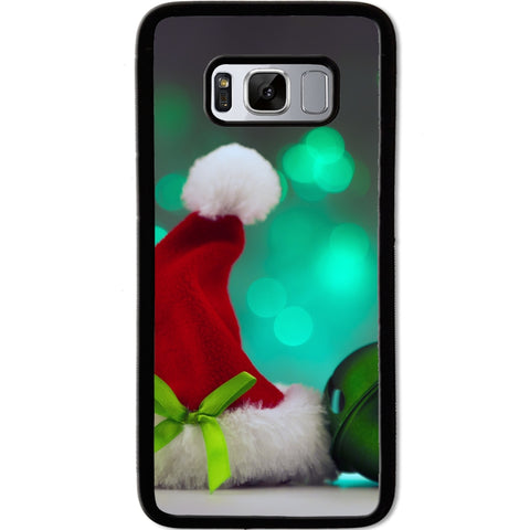 Fits Samsung Galaxy S8 - Xmas Hat Bell Case Phone Cover Y00488