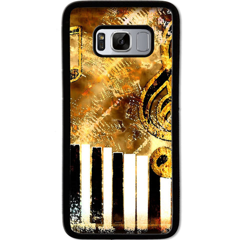 Fits Samsung Galaxy S8 - Abstract Music Case Phone Cover Y01182