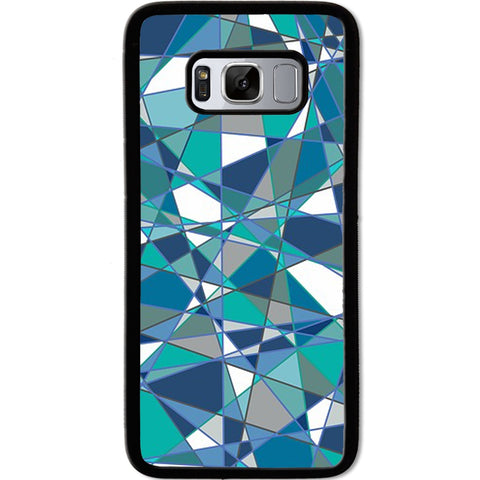 Fits Samsung Galaxy S8 - Abstract Teal Case Phone Cover Y01184