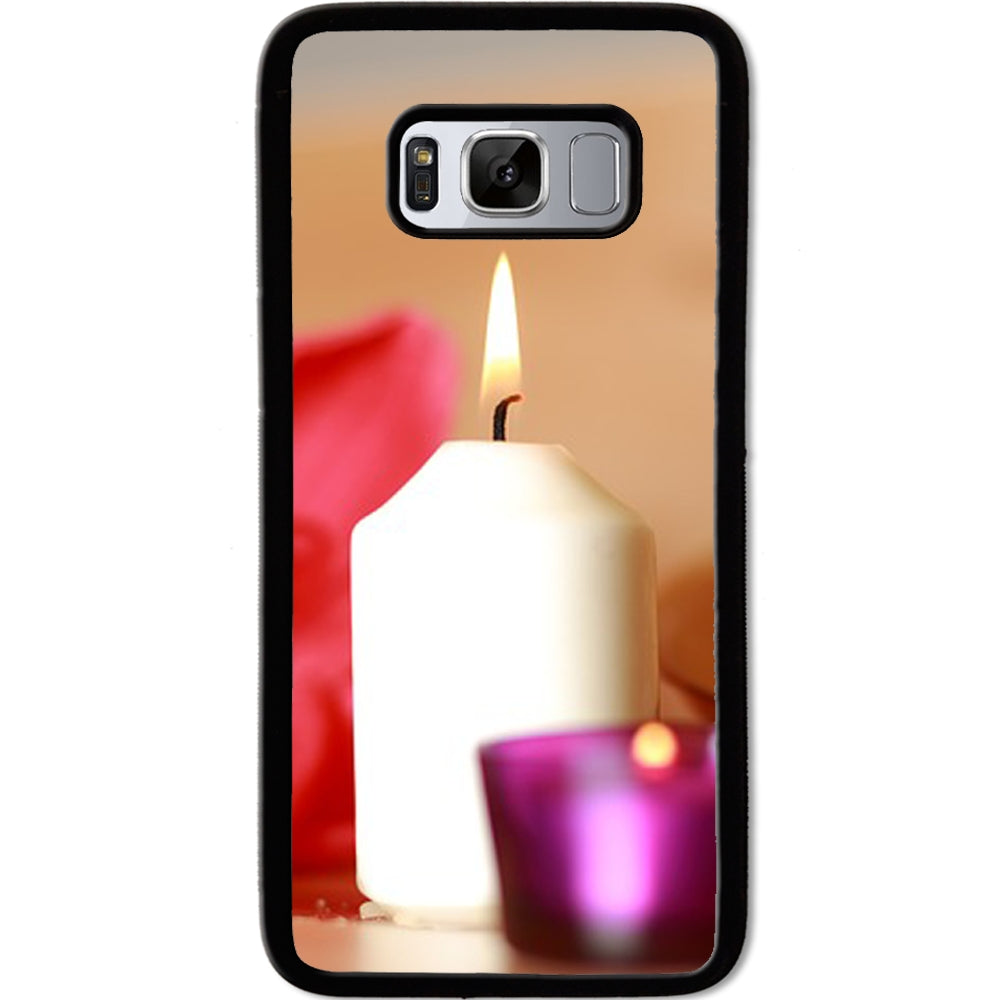 Fits Samsung Galaxy S8 - Candle Pretty Case Phone Cover Y01222